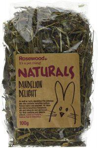 Dandelion treat for rabbits