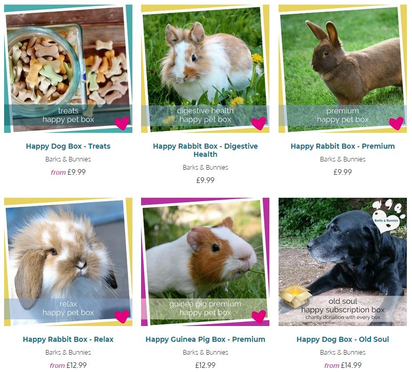 Barks and Bunnies Subscription Box